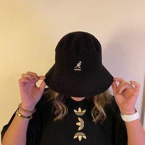 Kangol black bucket hat